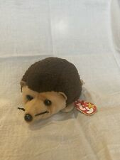 Ty Beanie Baby Prickles the Hedgehog w/Errors 1998/1999 Retired & Rare!