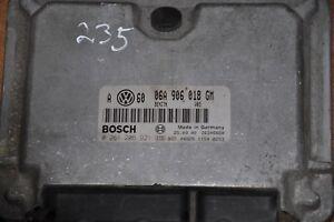 VW GOLF MK4/BORA 2.0 ENGINE ECU 06A906018GM/06A 906 018 GM 0261206921 BOSCH
