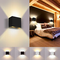 5W Modern Cube 2 LED Wall Lamp Up Down Indoor Sconce Lighting Home Decor Light