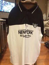 NWOT Big & Tall 3XB Polo Ralph Lauren Short Sleeve Polo Shirt Black & White
