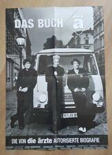 Poster - Die Ärzte - Das Buch Ä, gebraucht - gut