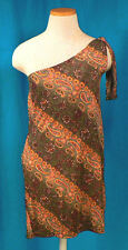 XOXO one shoulder paisley swimsuit coverup - Size S/M