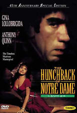The Hunchback of Notre Dame / Notre-Dame de Paris (1956) Anthony Quinn DVD *NEW