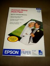 EPSON 4 x 6 IN. PREMIUM GLOSSY PHOTO PAPER 40 SHEETS