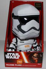 """Star Wars Force Awakens Talking Storm Trooper 9"""" Tall"""