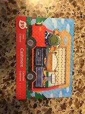Cashmere #39 Series 5 Animal Crossing New Leaf Welcome Amiibo Card