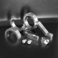 Motorrad Lampenhalter,headlight brackets, Alu, CNC-gefräst,48mm