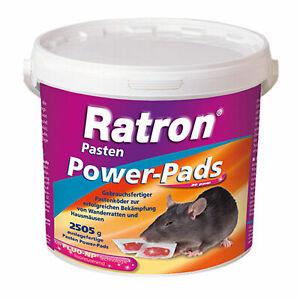 Frunol Ratron Power Pads 2505 g = 167 x 15 g Rattenköder Rattengift Hausmäuse