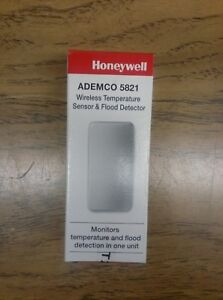 New Honeywell 5821 Wireless Temperature Sensor and Flood Detector. 12 pack