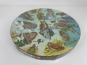 1973 Springbok OWLS Circular Puzzle Jigsaw Puzzle 500+ Pieces
