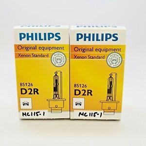 OPEN BOX D2R Philips OEM HID Xenon Headlight Bulbs with COA DOT 2 Bulbs MC115-1