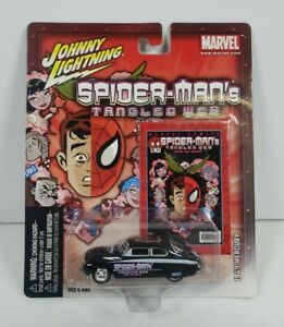 Johnny Lightning Spider-Man's Tangled Web 1949 Mercury 2004 Marvel