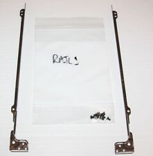 "14"" SCREEN RAILS/BRACKETS & SCREWS SET--R/L PAIR --GATEWAY SOLO 1450/1400 LAPTOP"