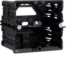 Tehalit HAGER Geräteeinbaudose L6719 schwarz 55x71x60 mm