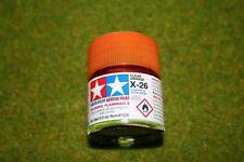 Tamiya Color GLOSS CLEAR ORANGE Acrylic Mini Paint X26 10mls