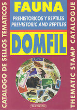 Domfil PREHISTORIC & REPTILES Thematic Catalogue, 24th Ed, New. Dinosaurs