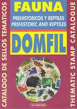 Domfil PREHISTORIC & REPTILES Thematic Catalogue, 24th Ed, New. Dinosaurs