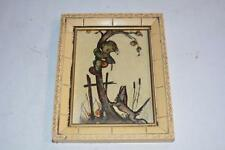 "Vintage Genuine Hummel PICTURE FRAME ""The Apple Theif"" Germany ARt"