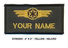STAR WARS IMPERIAL CREW NAME VEL-KRO PATCH - STW200V