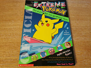 Extreme Pokemon The Guide for the Ultimate Fan - Excellent Condition