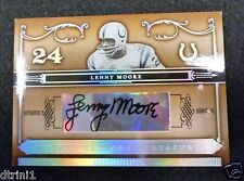 2006 Playoff National Treasures Auto Lenny Moore #69/71 Autograph Colts HOF