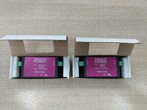 x2 Traco Embedded Switch Mode Power Supplies TPM10124C & TPM10112C