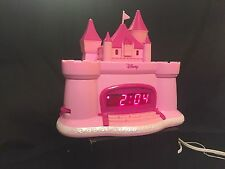 Disney - Princess - Pink - Castle - AM/FM - Alarm Clock