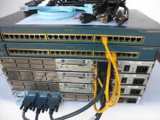 Cisco CCNA CCNP CCENT Study Lab 2811, 2650, 3560-24PS-S LOADED CCNAPILE1
