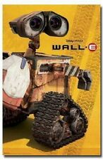 DISNEY PIXAR WALL E ROBOT MOVIE SOLO POSTER NEW 22x34 FREE SHIPPING