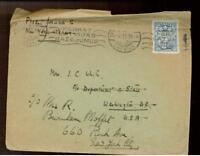 1929 Riga Latvia cover to USA