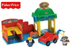 Fisher Price R6928/R6931 Little People Waschstraße New Boxed