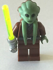 *BRAND NEW* Lego Minifig Star Wars KIT FISTO  with LIGHTSABER