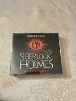 AUDIO BOOK CD - Andrew Lane Young Sherlock Holmes Death Cloud Read Dan Stevens