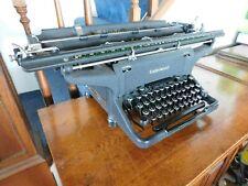 rare antique Underwood standard manual desk desktop typewriter works typing old