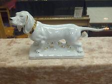 BLANC DE CHINE HUNTING SPORTING DOG STANDARD S/H DACHSHUND,DAXI, FIG £125rrp