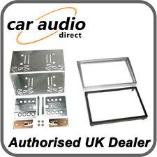 Connects2 CT23VX12 Matt Chrome Double DIN Facia Plate for Vauxhall/Opel