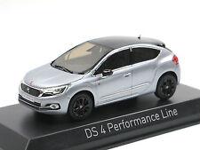 NOREV 155458 - 2016 Citroen DS 4 Performance Line-artence Grey - 1:43 neuf!!!