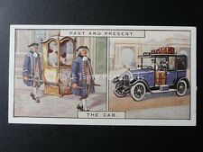 No.5 THE CAB - SEDAN CHAIR Past & Present by B.A.T. 1929