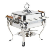 ....4QT Rectangular Chafing Dish Chafer Catering Banquet Buffet Food Tray Warmer