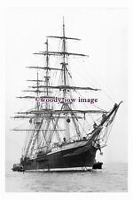 rs0112 - UK Sailing Ship - Joseph Conrad , built 1892 - photograph