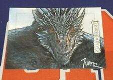 2020 The Complete Game of Thrones Javier Gonzalez SketchaFEX Sketch Card