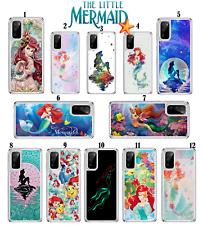 Disney Little Mermaid caso para Samsung Galaxy S10 S20 A10 A40 A41 A51 A21s