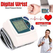 Automatic Digital Wrist Cuff Blood Pressure Monitor Heart Beat Rate Pulse Meter*