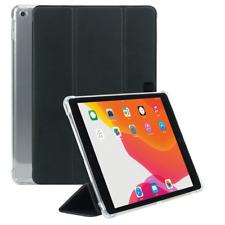 Coque iPad 10.2'' 2020 8 Gén, Coins Renforcés, Porte-Stylet, Transparent/Noir