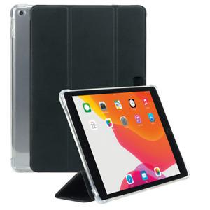 Coque iPad 10.2'' 9th/8th/7th Gen, Coins Renforcés Porte-Stylet Transparent/Noir