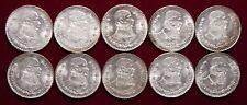 Lot 3 - 10 Mexican Silver Pesos All 1962 All Uncirculated Minor Toning - L@@K