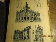 Planche Villas à Middelkerke Pl. 50 1892