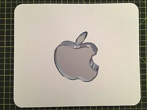 MOUSEMAT Crystal APPLE MOUSE MAT PAD  effect compatible with Mac iMac MacBook