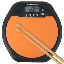 2 in 1 Digital Electronic Dumb Drum Pad Metronome Practice Jazz Drums Exercise