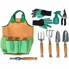 Garden Tool Set Tools Organizer Tote Gardening Gloves Included Great For Woman 9